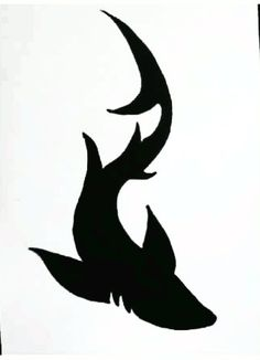 shark tattoo/ lower back with my other shark tattoo