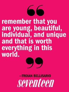 Troian Bellisario Quotes - Pretty Little Liars Cast Quotes - Seventeen