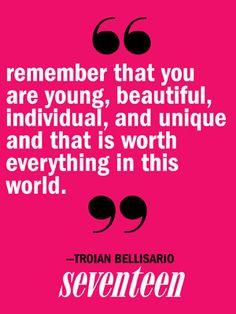 Troian Bellisario Quotes - Pretty Little Liars Cast Quotes - Seventeen