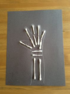 X is for X-ray Craft - Preschool Craft