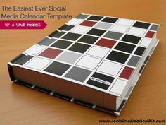 The Easiest {and Most Engaging} Ever Social Media Calendar Template for a Small Business
