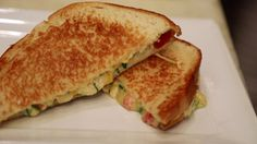 April is National Grilled Cheese Month and to celebrate, Chef Uno shared her next-level recipe for a NACHO GRILLED CHEESE. Watch the video to see Chef Uno work her magic in the kitchen and check out the recipe below. Grilled Cheese Recipes, Nachos, Food Videos, Grilling, Sandwiches, Cooking, Breakfast, Style, Kitchen