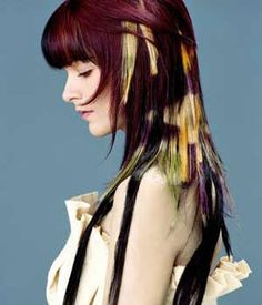 Striking Colored Hair