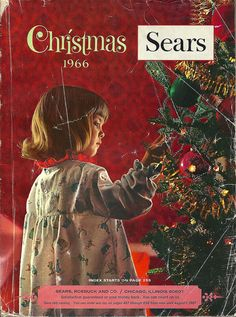 Sears Catalog Christmas 1966 - cover by Zaz Databaz (I was in first grade.)