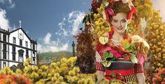 Festa da flor, la fiesta más colorista de Madeira.
