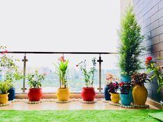 Small Balcony Design, Small Balcony Garden, Small Balcony Decor, Love Garden, Terrace Garden, Garden Floor, Balcony Ideas, Garden Ideas, House Plants Decor