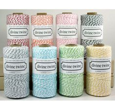 Bakers Twine - clearly this is one of the other perks to their job, as well as smelling baking bread.