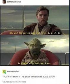 Swthememewars THAT'S IT! THAT'S THE BEST STAR WARS JOKE EVER! - )