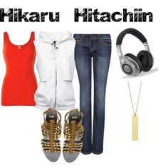 Hikaru casual cosplay ouran
