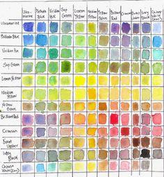 images about watercolor techniques Color