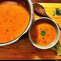 Coconut Lentil Soup by Nicole Rose Hogeveen