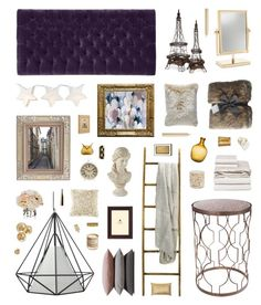 """""""New Romantics"""" by belenloperfido ❤ liked on Polyvore featuring interior, interiors, interior design, home, home decor, interior decorating, Home Decorators Collection, Universal Lighting and Decor, Dot & Bo and Hawkins"""