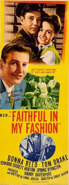 Pictures & Photos from Faithful in My Fashion (1946) - IMDb