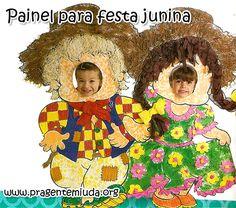 Como fazer um painel para festa junina | Pra Gente Miúda