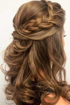 cool 50 Amazing Wedding Hairstyles for Medium Hair https://viscawedding.com/2017/08/30/50-amazing-wedding-hairstyles-medium-hair/