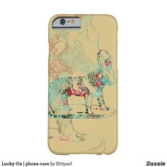 Lucky Ox   phone case Barely There iPhone 6 Case
