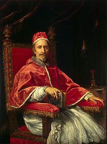 Retrato del Papa Clemente IX Rospigliosi 1669-- Carlo Maratti Museos Vaticanos Roma