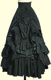 steam punk skirt