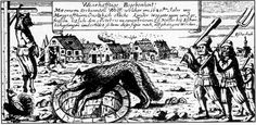 Werewolf chased into the well
