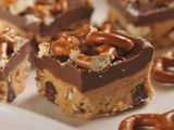 No-Bake Sweet & Salty Peanut Butter Pretzel Bars.