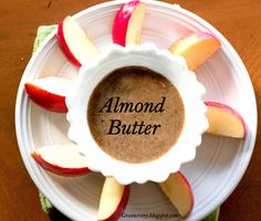 Grain Crazy: Make your own almond butter. #Chia
