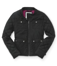Kids' Quilted Accent Jacket - PS From Aeropostale