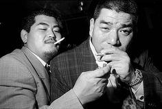 Two members of the Yakuza. Asakusa, Japan 1998 © Bruce Gilden