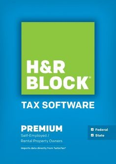 awesome H&R Block Tax Software Premium + State 2014 Win [Download]