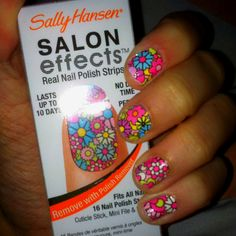 Stick on nail polish. A bit pricey but so easy! Lasts awhile too.