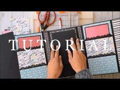 Mini Trifold Folio | Added Features Tutorial - YouTube