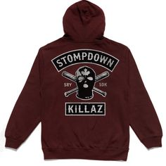 Road Warrior Zip Up - Burgundy – Ephin Lifestyle Holdings Corp.