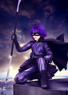 "Chloë Grace Moretz (1997- ) as Hit Girl in ""Kick-Ass"", 2010. age 13 #actor"