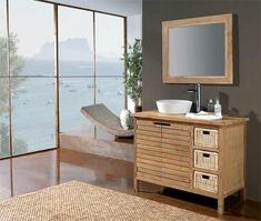 Muebles de baño rústicos baratos