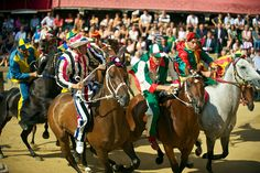 Experience the Palio di Siena Horse Race Festival in Italy