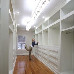 If I Had This Closet, The Man Of The House Still Wouldnu0027t Have Room For His  Stuff, Iu0027d Buy More Stuff To Fill It! Serious Closet Envy: Master Closet By  ...