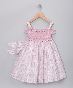 Pink Floral Teresa Smocked Dress - Infant, Toddler & Girls