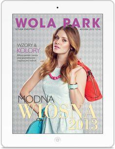 Wola Park to magazyn dla klientów Centrum Handlowego Wola Park pokazujące ofertę sklepów. Klient: Valkea Media Wersja: iOS