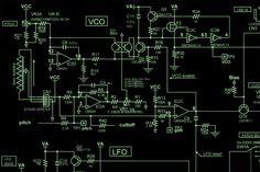 Korg Monotron Synthesizer Schematic