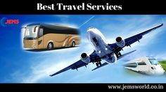 Best Travel Services and tourism packages  If you are repeatedly traveler than its great for to travel with us we provide best and economical travel offers with discount. For more visit our website:- http://www.jemsworld.co.in/  #travelservices #jemsworld #ecommerce #jamnagar