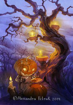 Halloween Mood by APetruk.deviantart.com on @deviantART