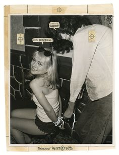"""thisaintnomuddclub: """"""""Debbie Harry and Joey Ramone in Punk Magazine's Mutant Monster Beach Party, 1978 """" """" Joey Ramone, Ramones, Blondie Debbie Harry, Punk Magazine, Roman Photo, Chica Punk, Girl Tied Up, Joan Jett, Post Punk"""