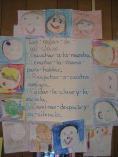 Normas en el aula for 5 reglas del salon de clases