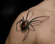 Très bien fait ce tattoo 3D!!!