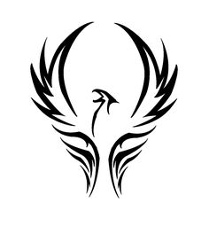 """Phoenix Tattoo Design """" I will rise from the ashes of my pain no longer will I be held down with chains """""""