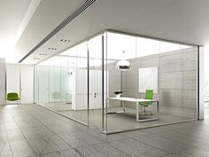 Glass movable wall KRISTAL 5 by Arcadia