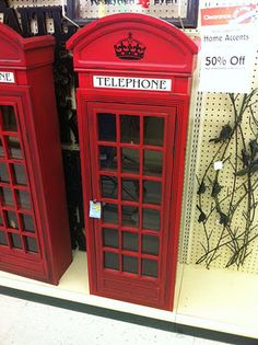 If Hobby Lobby still has these I wonder if I could paint one blue to look like a tardis