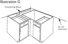 kaboodle flat pack kitchen 900mm base cabinet installation