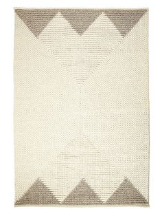 Triangle Border Rug from Serena