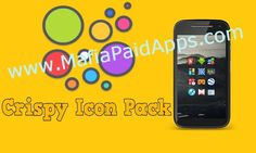 Crispy  Icon Pack v1.3 APK   CRISPYCRISPY. UNIQUE. VIBRANT.  FEATURES - Extremely high quality icons [more to come] - Icons at 192x192 - Cloud based HD wallpapers. - Dashboard for easy use. - Dynamic Calendar support. - Alternative Icons. - Icon request tool. - Regular Updates.  SUPPORTED LAUNCHERS - Nova - Apex - ActionPro - Go - Solo - Smart - Aviate - Next - KK - ADW - TSF - CM theme engine - Other launchers  NOTE First time wallpapers loading will take a little long. Please be patient…