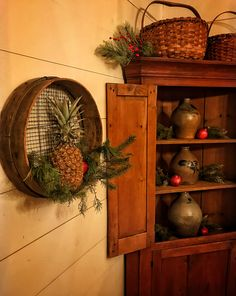 country primitive home decor used